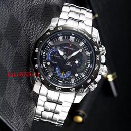 Venta al por mayor de 2019 Relogio masculino SHOCK Venta al por mayor EF-550D-7AV EFR-540FG-7A Nuevo EFR-539BK-1A de los hombres EF-550D-7AV EF-558-7A reloj deportivo Reloj de pulsera RELOJ