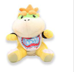 7 inch super mario bowser koopa jr dragon stuffed plush doll soft baby toy super mario bros doll kids gifts kka4119 - Bebe Mario