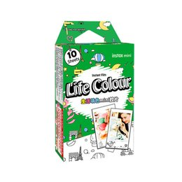 $enCountryForm.capitalKeyWord UK - Instax Mini Life Colour Film 10Sheets For 7 7s 8 9 50s 7s 90 25 Share SP-1 Instant Cameras New