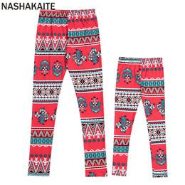 $enCountryForm.capitalKeyWord NZ - NASHAKAITE family christmas pajamas Print matching pants mother daughter leggings Mommy and me clothes family pajamas