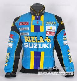 SUZUKI chaqueta bordado abrigo MOTO GP ropa sudadera con cremallera Ropa a prueba de viento en venta