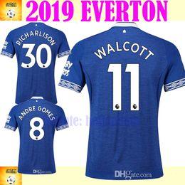 EVERTON fc soccer jersey 2018 2019 MINA ANDRE GOMEZ ZOUMA DIGNE RICHARLISON  WALCOTT Everton jersey 18 19 football kit shirt ae24192ae