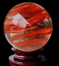 $enCountryForm.capitalKeyWord Canada - 1PC Factory direct melting crystal ball ornaments booming lucky red red ball crystal melting