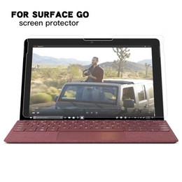 Yüzey GO için Temperli Cam Ekran Koruyucu Için Yüzey GO 10.1 '' 10 inç TAB Tablet Koruyucu Film indirimde