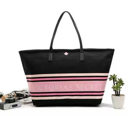Discount stripe canvas tote beach bags - Pink sugao 2018 new style strip beach shopping bag secrit large capacity canvas purses and handbags luxury tote bag shou