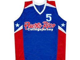 Cheap Mens CUSTOM NAME     JOSE JJ BAREA TEAM PUERTO RICO JERSEY BLUE ANY  NAME     XS - 5XL Retro Basketball Jerseys 6b6e453a8