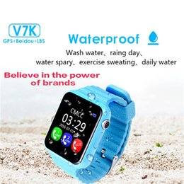 $enCountryForm.capitalKeyWord NZ - V7K Waterproof Kids GPS smart watch kids Safe Anti-Lost Monitor Watches with camera facebook SOS Call Location Device Tracker