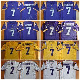 Lsu jerseys online shopping - LSU Tigers College Football Leonard Fournette  Jersey Patrick Peterson Tryann Mathieu e1dbe3424