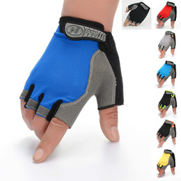 Dark Cycles NZ - Cycling Half Finger Gloves Riding Advertising Gloves Fishing Outdoor Sports Climbing Fitness Mitten