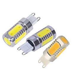 Replace spotlight bulb online shopping - Ultra Bright Aluminum G9 LED Light COB LED Lamp W V Crystal Bulb Droplight Chandelier Spotlight Replace Halogen