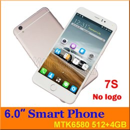 Free mobile ebook online shopping - No logo s inch MTK6580 Quad Core Smart phone Android GB G WCDMA Unlocked Dual SIM camera MP gesture Mobile Free case