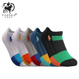$enCountryForm.capitalKeyWord Australia - Hiphop Pierpolo Men Cotton Striped Sock Men 'S Compression Short Ankle Socks Breathable Deodorant Cotton Socks Adult Socks