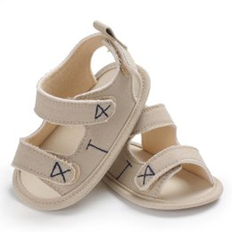 Baby Girl Summer Canvas Shoes Australia - 0-18 Months Infant Newborn Baby Boy Girl Shoes Summer Toddler Soft Sole Canvas Pram Shoes 2018 New
