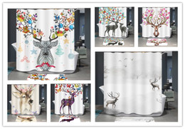3d Cute Giraffe 89 Shower Curtain Waterproof Fiber Bathroom Home Windows Toilet Easy To Lubricate Shower Curtains Home & Garden