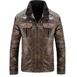 Mens sheepskin leather jacket online shopping - mens designer jackets Slim Sheepskin Coat Motocycle Leather Jacket Men Brand Pilot Jacket Leather Pelt Bomber Jackets