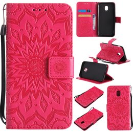 samsung a5 wallet case NZ - Mandala Flower Embossed Flip Wallet Leather Case for Samsung J2 J3 J4 J5 J7 J8 A3 A5 A7 A9 Plus 2018 2017 2016