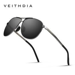 f81811466f Veithdia 2018 Brand Designer Fashion Sunglasses Men s Polarized Mirror Sun Glasses  Eyewear Accessorie For Men 3028