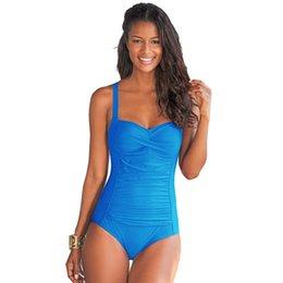 $enCountryForm.capitalKeyWord Australia - 2017 New One Piece Swimsuit Women Plus Size Swimwear Retro Vintage Bathing Suits Beachwear Print Swim Wear Monokini M-XXXL