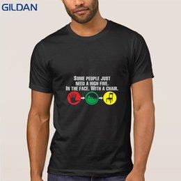 Pop Tees Australia - Casual High Five T Shirt 100% Cotton Camisa Men's Tshirt Size S-3xl Pop Top Tee Summer Streetwear