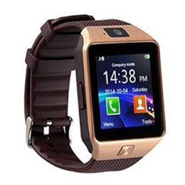 $enCountryForm.capitalKeyWord NZ - 2018 New Smart Watch dz09 With Camera Bluetooth WristWatch SIM Card Smartwatch For Ios Android Phones Support Multi languages