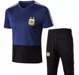 Dybala Jersey UK - 2018 World Cup Argentina MESSI DYBALA DI MARIA AGUERO  HIGUAIN soccer shirt 4c370aa61