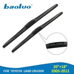 "toyota land cruiser accessories 2019 - 2PCS Windshield Wiper Blades For Toyota Land Cruiser 2005-2012 20""+18"" Rubber Windscreen Wipers Auto Parts Car"