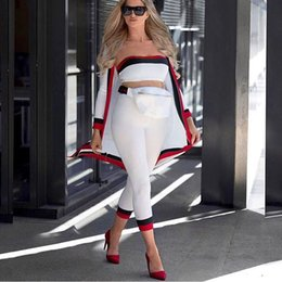 Discount thicker dress - 2018 New Arrival Tracksuit 3 Piece Set Women Thicker Crop Tops+Pencil Pants+Cardigan Dress Suit Winter Keep Warm Three P
