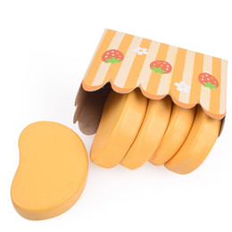 China Children Pretend Play And Dress Up Kitchen Toys Simulation Chicken Nugget Flavoring Chopping Block Roasted Toy Suit 6 5yw W cheap block play suppliers