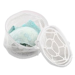 $enCountryForm.capitalKeyWord UK - New Lingerie Organizers Underwear Bra Sock Laundry Washing Aid Net Mesh Zip Bag Rose For Clothes Housekeeping