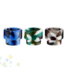 Atomizer cover online shopping - Colorful Drip Tip Wide Bore Epoxy Resin Drip Tips Cover Mouthpiece For Tank Atomizers Ecig driptip With Retail Package DHL Free