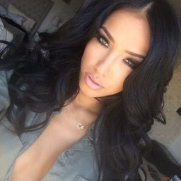 $enCountryForm.capitalKeyWord Australia - Loose Wave Lace Front Wigs Virgin Human Hair Wigs With Baby Hair Natural Hairline Swiss Lace Cap