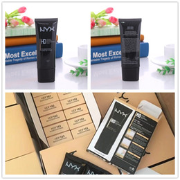 wholesale hd concealer 2019 - High Quality NYX HD Studio Photogenic Primer Base Face Foundation BB Cream NYX Primer Concealer cheap wholesale hd conce
