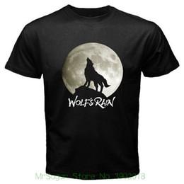 $enCountryForm.capitalKeyWord Canada - New Wolf's Rain Kiba Retro Anime Manga Men's Black T-shirt Size S To 3xl Fashion T-shirt Men Clothing