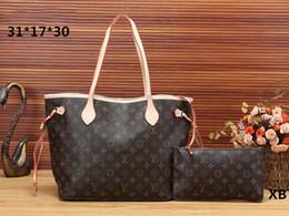 Messenger bag style purse online shopping - Designer handbags style luxury brand large capacity totes with wrist Famous brand composite bag backpack shoulder messenger purse bag