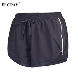 Wholesale Running Sports Gym Workout Waistband Skinny Sexy Hot High Waist Loose Fit Yoga Shorts Loose Fit Beach Short for Women Girls