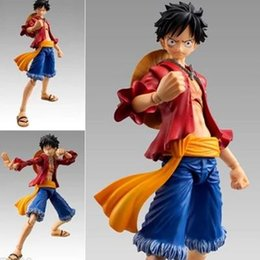 Hkxzm Anime Figurs 18cm One Piece Mania Produce Monkey D Luffy Pvc Figure Collectible Model Toys Gift With The Best Service Action & Toy Figures