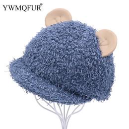 9b2889c1a7b94 Korean Autumn Winter Casual Warm Baseball Caps Cute Cat Ear Girl Hats With  Vintage Acrylic Fashion Female Male Hat New Arrival