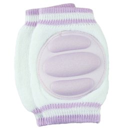 toddler crawling knee pads 2019 - light purple Baby safety New Kid leggings knee protector Crawling Knee Pad Toddler Elbow Pads cheap toddler crawling kne