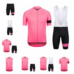 Bicycle Sales NZ - RAPHA team Cycling Short Sleeves jersey (bib) shorts sets Hot Sale breathable quick-drying mountain Bike Clothes bicycle sportswear 92201Y