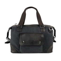 fa2415f469fa Vintage men messenger bags fashion male shoulder bag canvas with leather  Crossbody Bags Briefcase unisex women bags