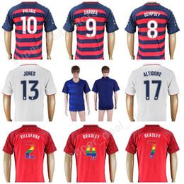 10c455b16 2018 Soccer Jersey 18-19 Men Thailand 10 PULISIC 8 DEMPSEY 9 ZARDES  Football Shirt Kits Uniform 8 DEMPSEY 10 DONOVAN 1 HOWARD 18 WOOD JONES