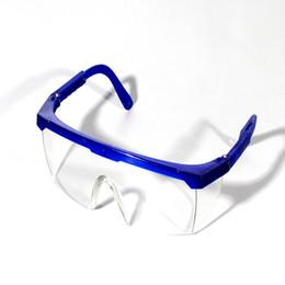 120pcs / lot Windproof Goggles пылезащитные очки для глаз Безопасность защиты труда Защитное распылительное Anti Splash высокое качество