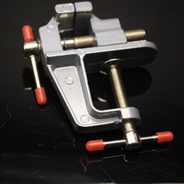 Wholesale 3 quot Vice Aluminum Miniature Mini Tool Small Jewelers Hobby Clamp On Table Bench Vise