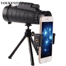 $enCountryForm.capitalKeyWord NZ - Outdoor Monocular Telescope Hunting Glimmer Night Vision Camping Fishing Equipment With Compass Phone Clip Tripod Traveling Tool