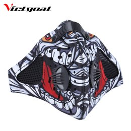 cycling pollution mask NZ - Wholesale- VICTGOAL Cycling Mask Anti-Pollution Mouth-Muffle Dust Sports Mask Dustproof Mountain Road Bike Running Masks Face Cover M1701