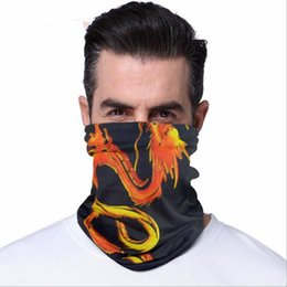 yellow masks for women UK - hood mask wind sand breathable outdoor riding set face towel Cycling Masks for men and women