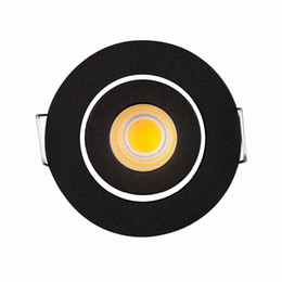 small downlight Australia - Small Led light 3W Mini COB LED Downlight 220Vac Dimmable