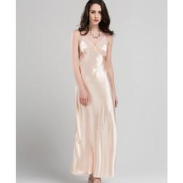 Discount polyester satin sleepwear - Lace Sexy Sling Sleeping Dress Satin  Silk Sleepwear Women Faux Silk 4fd55ea1f