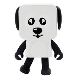 $enCountryForm.capitalKeyWord UK - single-piece MINI Toy Dog Speaker Bluetooth Dancing Dog Speakers Small Square Puppy Toy gift for the Children