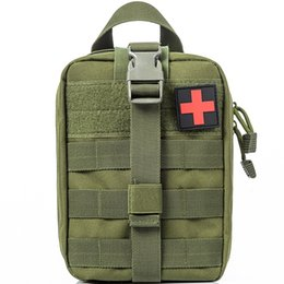Capable Bag Accessory Bags First Aid Outdoor Waterproof Camping Shoulder Strap Molle Sundries Tactical Military Medical Edc Tool Hanging Home